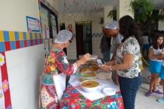 I Feira de Gastronomia da Experimental: Grupo 5 e Ensino Fundamental em Abril 2019