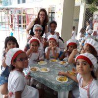 I Feira Gastronômica Experimental – Grupo 5 e Ens. Fundamental