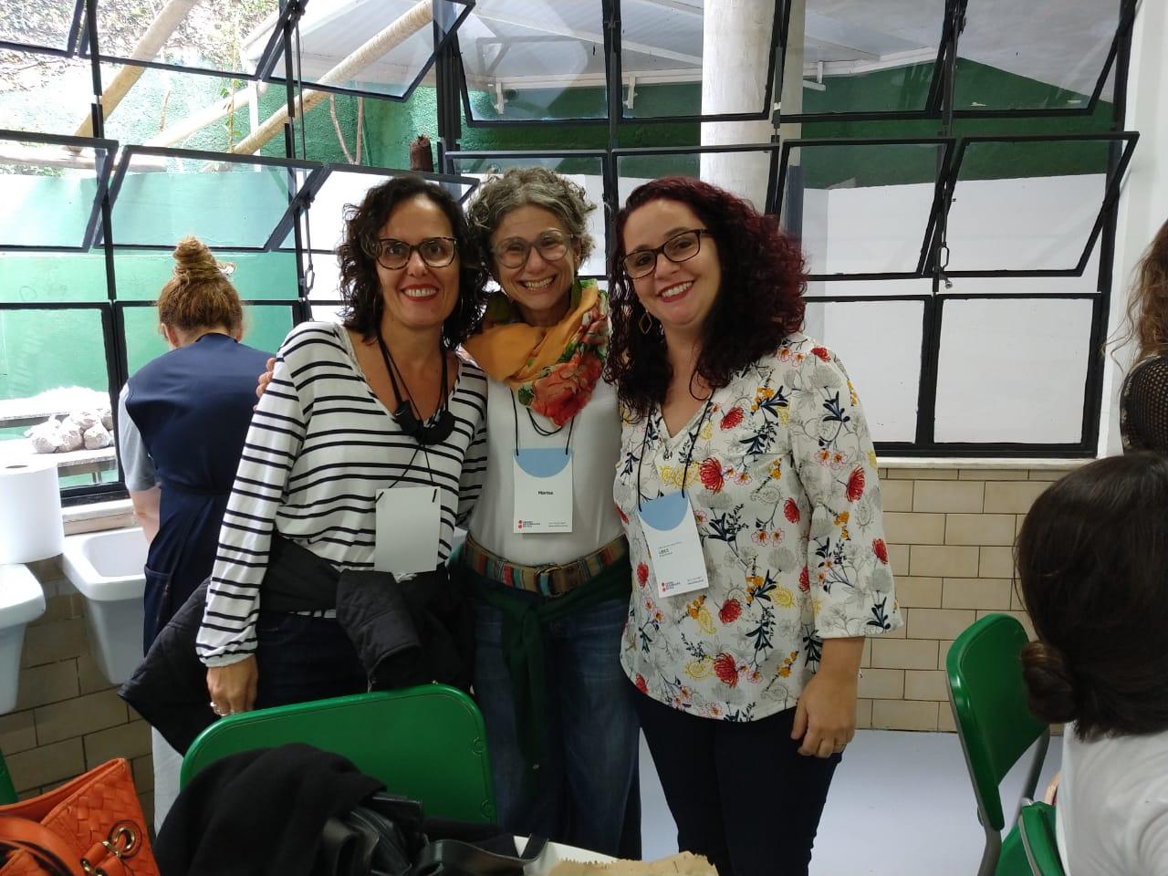 Professoras da Experimental participam de formação em Belo Horizonte