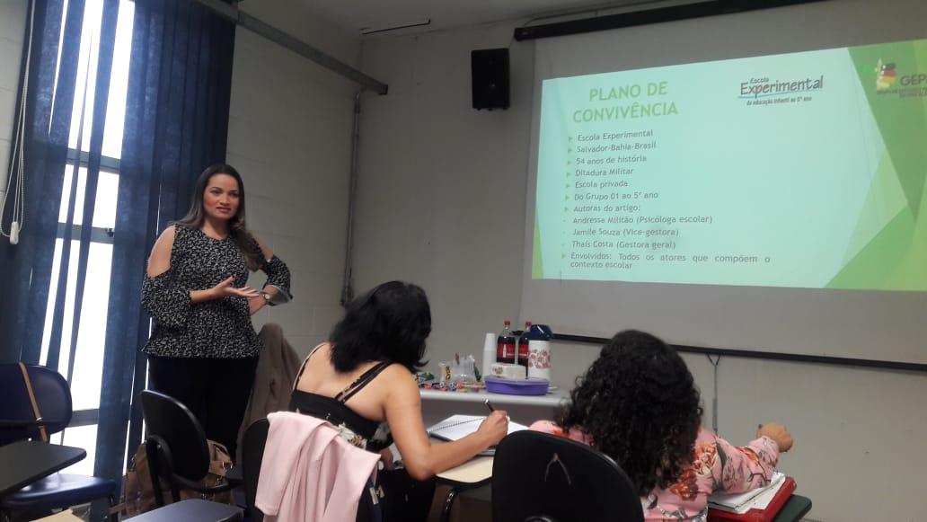 Plano de Convivência da Escola Experimental é apresentado no GEPEM da UNICAMP