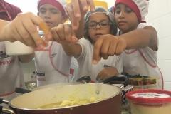 Aula de Gastronomia   Escola Experimental   Grupo 5 e Ensino Fundamental