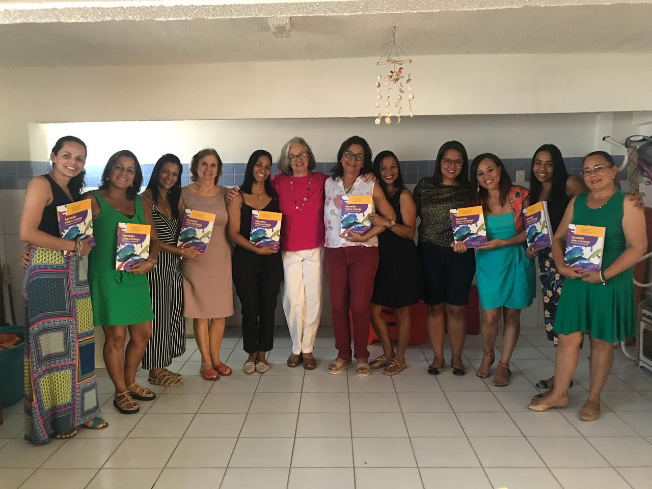 Visita da Dra. Monique Deheinzelin marca Semana Pedagógica da Educação Infantil