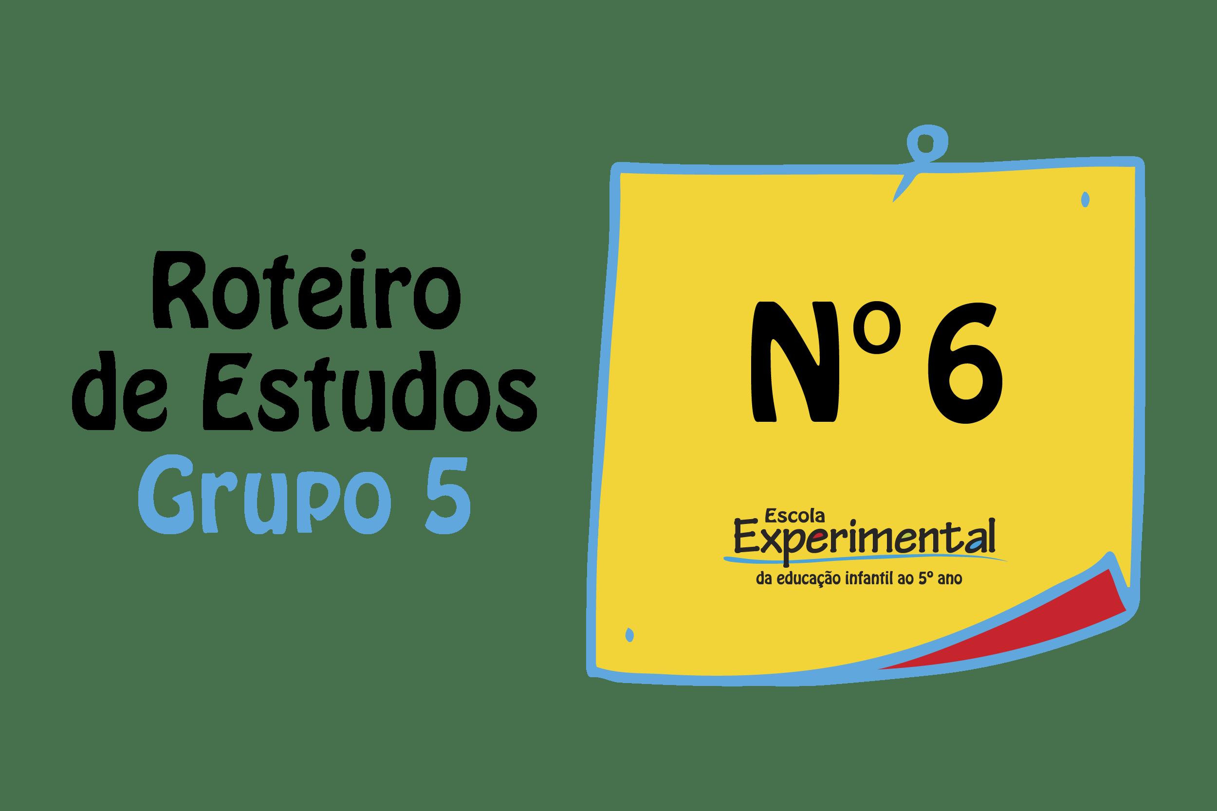 GRUPO 5 – Roteiro de Estudos (01/06 a 05\06)