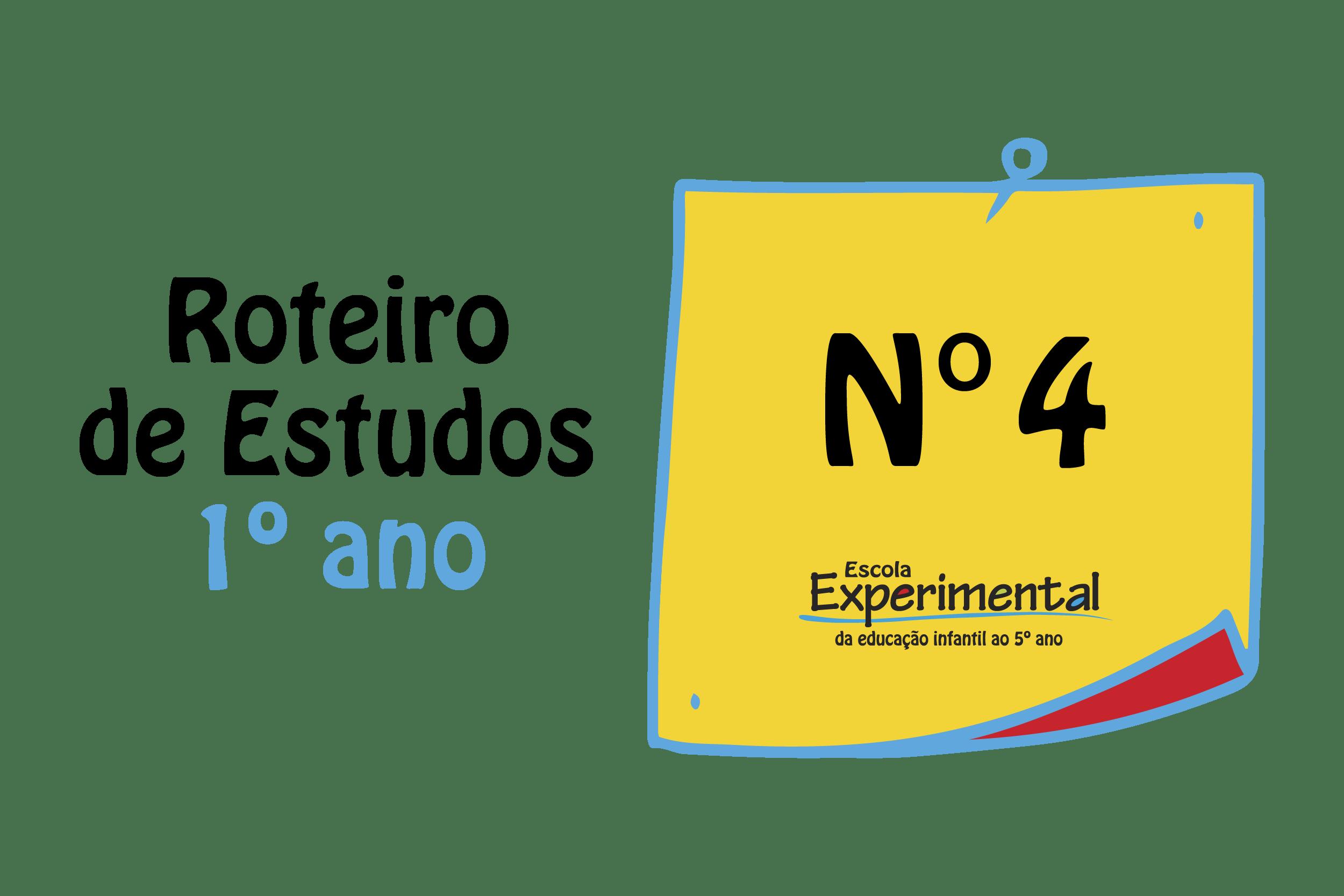 1º ANO – Roteiro de Estudos (18/05 a 22/05)