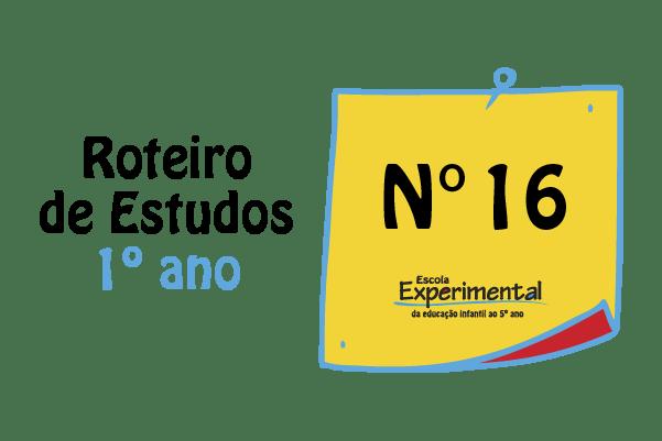 1º ano – Roteiro de Estudos de 31/08 a 04/09